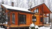 Будівництво дачних будинків з клеєного бруса