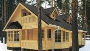 Будівництво дачних будинків з профільованого бруса