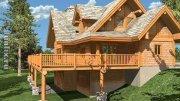 Будівництво дерев'яних будинків Картинки