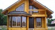 Будівництво Дерев'яного Будинки з профільованого бруса