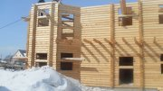 Будівництво Дерев'яного Будинку Взимку
