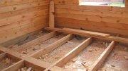 Будівництво Пола в Дерев'яному Будинку