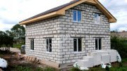 Будівництво заміських будинків з газобетонних блоків