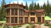 Будівництво заміських будинків з клеєного бруса