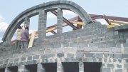 Будівництво заміського будинку з керамзитоблоков